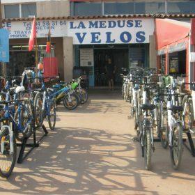 La Méduse location vélos porquerolles